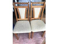 Lovely Design Solid Wood Chairs