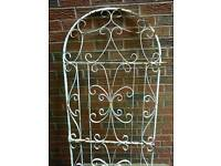 DOME SHAPED TOP GARDEN GATE