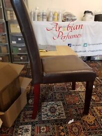 Brand New Dining Dark Brown Very Good Quality Chairs