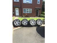 AUDI Q7 ALLOYS MINT CONDITION ALL NEW TYRES MAY FIT VW