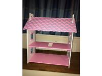 3 Tier Pink Doll House