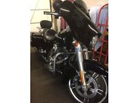 2015 HARLEY DAVIDSON 1690 STREET GLIDE USA IMPORT ONLY 3800 MILES