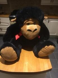 Huge monkey cuddly toy