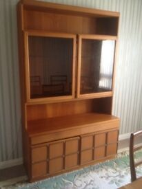 Dining room table and side cabinet for sale