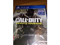 BRAND NEW PS4 GAME CALL OF DUTY infinite