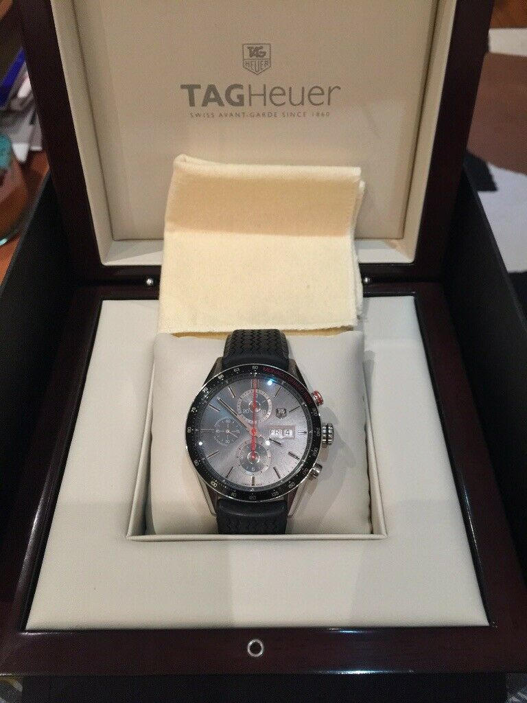 TAG HEUER CARRERA Calibre 16 MONACO Grand Prix Limited Edition CV2A1M.FT6033 d53855e1b4