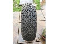 Jeep 4x4 tyres