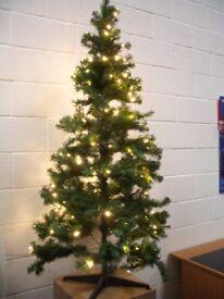 Christmas Tree and Lights Joblot