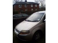 Daewoo KALOS 1.4 petrol. Amazing car with long MOT. Very reliable car