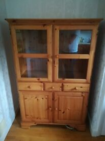 Ducal sideboard with display cabinet