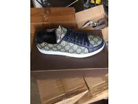 Blue Gucci Men's Trainers Shoes