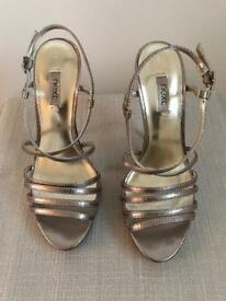 Metallic Silver Shoes from Next