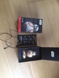 BB8 Star Wars The Force Awakens Sphero Robot App remote enabled droid toy