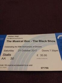 Genesis, Musical Box Ticket