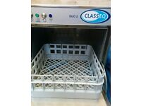 Classeq Duo 2 Stainless Steel Glass washer, commercial use