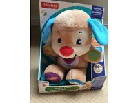 Fisher price laugh & learn puppy.