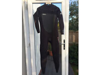 O'Neill Superfreak 5/4 Winter Wetsuit, Size Large, Worn Once
