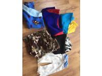Several children's fleece pyjamas