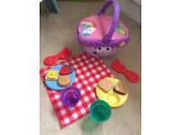 LeapFrog shapes musical picnic basket