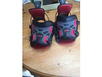 Flow Pro Snowboard Binding (red and black)