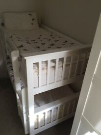 Single bunk bed or two single beds