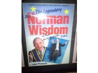 Norman Wisdom, Fabulous signed mounted programmes