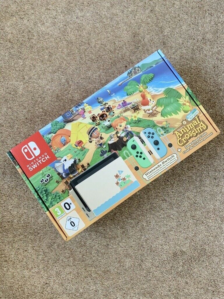 New - Nintendo Switch Console Animal Crossing Special ...