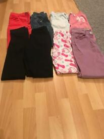 Girls age 10-13 years clothes bundle and size 4 shoes