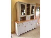Painted oak dresser