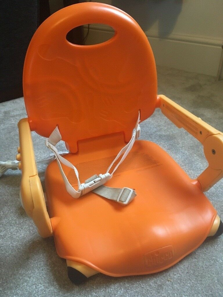 Chicco pocket booster feeding chair