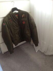 Boys DKNY bomber jacket age 16