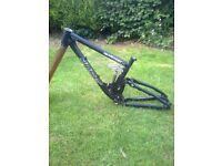 bike usa sinister downhill frame [rare] & kona frame