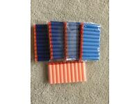 50 Brand new Nerf bullets with sockets