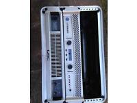 QSC PLX2502 & Crown XTI2000 & XTI4000 Lightweight Power Amplifiers