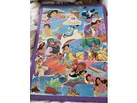 Aladdin wall art (not official) custom made