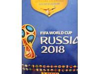 Panini world cup sticker swaps