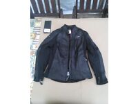 New womens leather motorcycle jacket - Held Viana Size 36