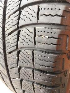 "205/55/16 Michelin Xice 7-8/32 + rims 5x112"""