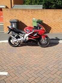 Honda CBR 600 F06 fitted with SP Engineering moto GP stubby exhaust