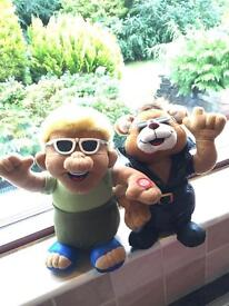 2 Singing Characters (Battery Operated) - I Will Sell Separately