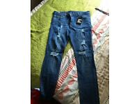 Emulate skinny jeans men's
