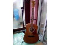 Hondo dreadnought acoustic guitar