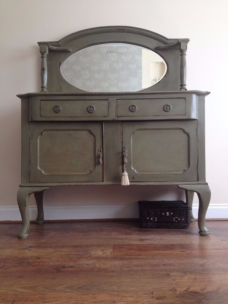 Stunning Shabby Chic Antique Sideboard Painted Annie