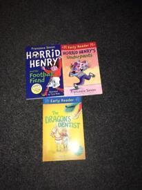 Hor Horrid Henry books early reader rid Henry books early reader