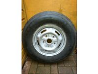 Spare wheel and tyre for Ford transit, good condition