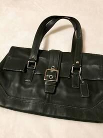 Genuine Coach leather handbag