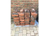 Reclaimed imperial red house bricks