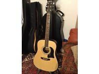 Garrison ag200 accoustic guitar for sale plus gig bag