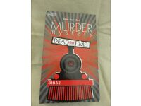 """Host Your Own - Murder Mystery. """"Dead on Time"""" CD Game"""