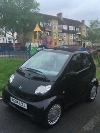 Black Smart Cabrio